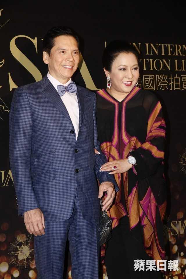 Vợ chồng nhà sản xuất Hướng Hoa Cường - Trần Lam. Ảnh: HKchannel.