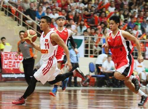 Saigon Heat là đội bóng rổ chuyên nghiệp số 1 Việt Nam