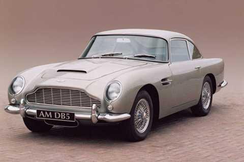 1. Aston Martin DB5 1963.
