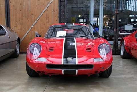11. Ferrari Dino 206/246 GT 1968.