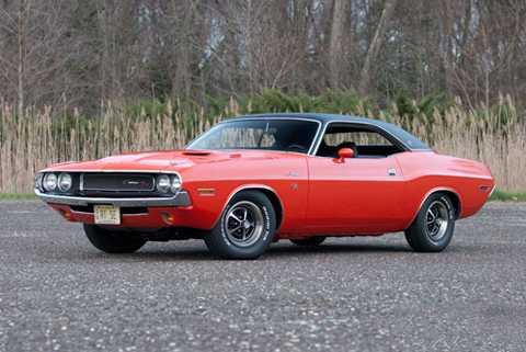 3. Dodge Challenger R/T 1970.