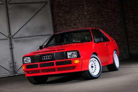 4. Audi Sport Quattro 1985.