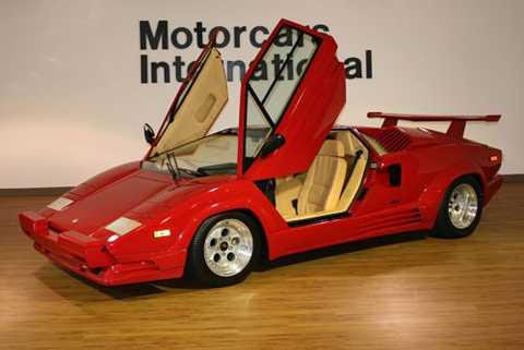 5. Lamborghini Countach 1989.