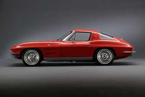 8. Chevrolet Corvette Sting Ray 1963.