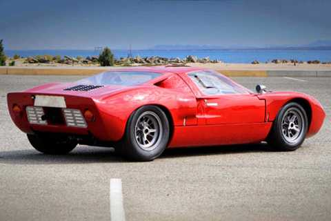 9. Ford GT/GT40 1963.