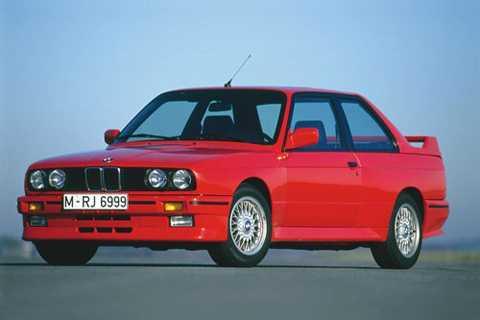 10. BMW M3 1986.