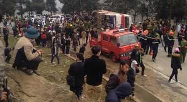 Hiện trường tai nạn - Nguồn ảnh: FB Minh Tuấn