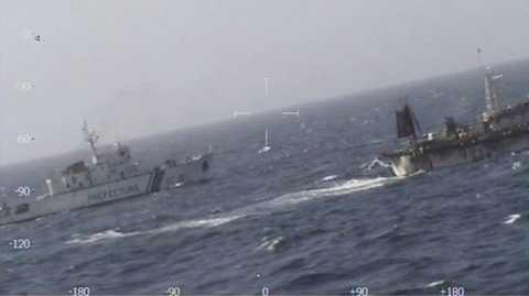 Tàu cá Trung Quốc bị tàu cảnh sát biển Argentina truy đuổi