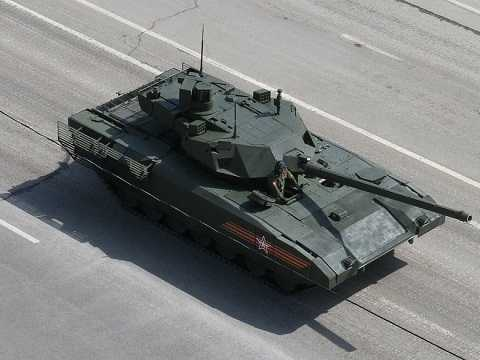 Siêu tăng T-14 Armata trong cuộc duyệt binh qua Quảng trường Đỏ