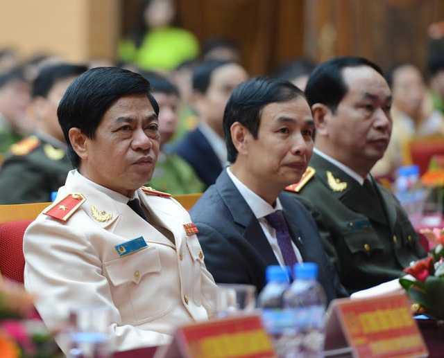 Thiếu tướng Đoàn Duy Khương tại buổi lễ nhậm chức. Ảnh: Mạnh Thắng