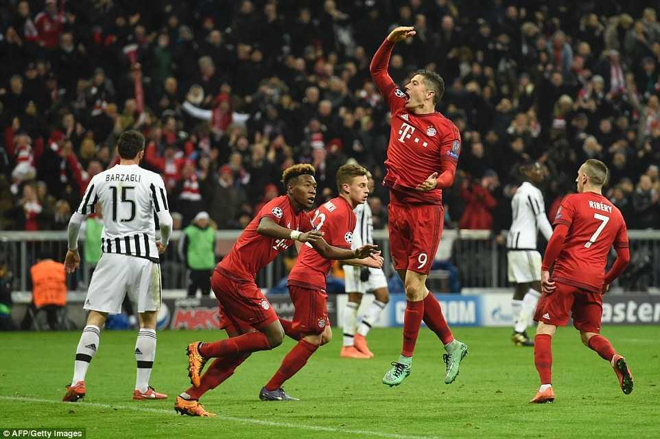 Bayern Munich ngược dòng kịch tính