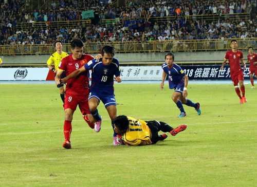 Tuyển Việt Nam 2-1 Đài Loan