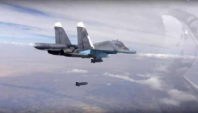 Máy bay Nga tham gia chiến dịch không kích tại Syria
