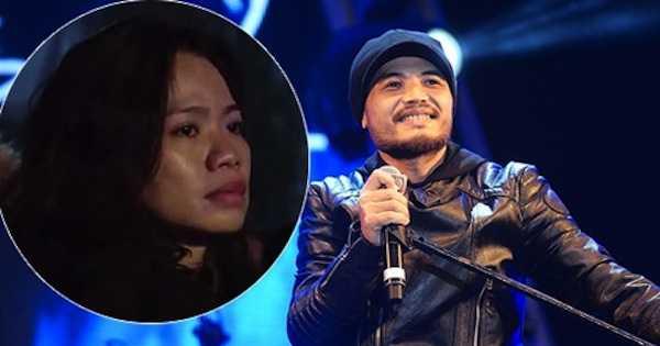 Vợ Trần Lập nén nước mắt trong liveshow cuối cùng của chồng.