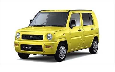 Daihatsu đã có ý tưởng như thế nào khi quyết định đặt tên cho chiếc xe của mình là Naked (tạm dịch: Khỏa thân)?