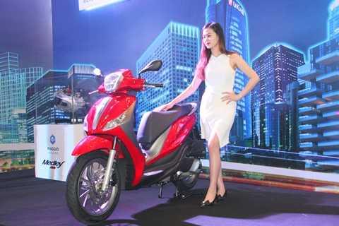 Piaggio Medley ABS ra mắt với động cơ mới, chỉ tiêu thụ 2 lít xăng/100km