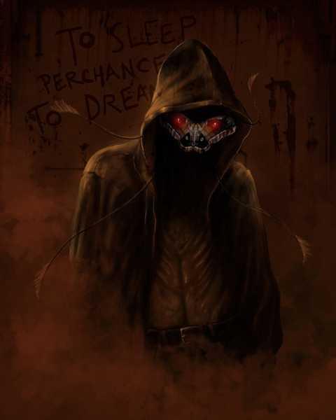 Quái vật hù dọa người vào ban đêm