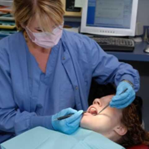 """Bác sĩ khám răng. Cái răng cái tóc là góc con người, khi kinh tế vững vàng hơn, người ta chú ý hơn nhiều đến sức khỏe răng miệng – điều đó lý giải tại sao nghề bác sĩ khám răng đang là một trong những nghề nghiệp """"hot"""" của thế giới."""