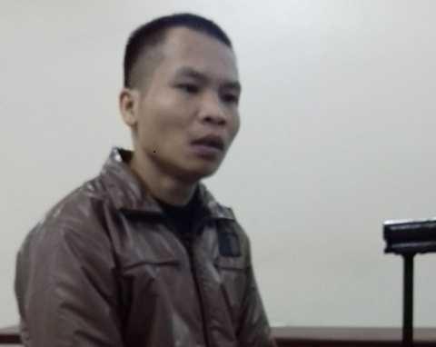 Bị cáo Nguyễn Văn Đoàn tại phiên xét xử