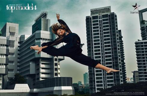 Bức hình giúp Quỳnh Mai đứng thứ 2 trong tập 2 Asia's Next Top Model.