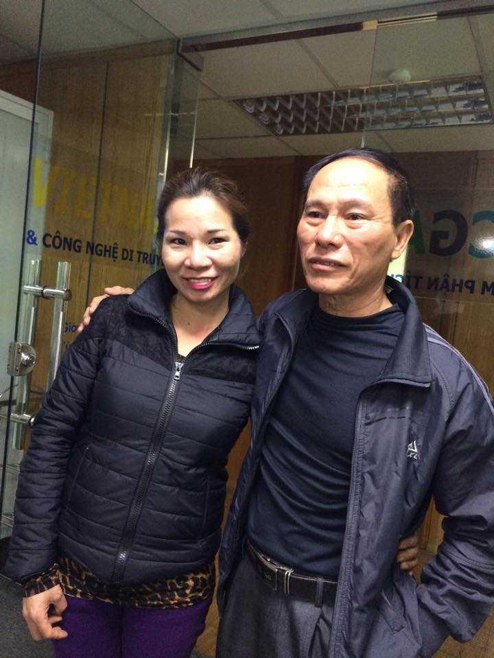 Chị Trang đã từng hồi hộp khi thử ADN và tưởng tìm được người bố đẻ của mình