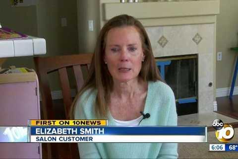 Elizabeth chia sẻ câu chuyện của mình trên sóng truyền hình