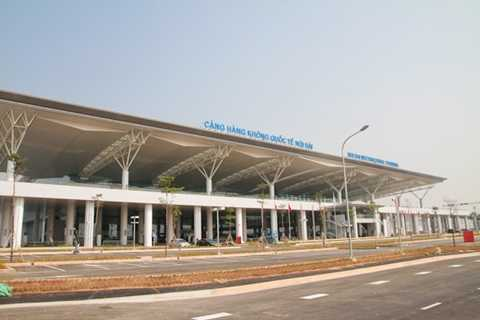 Cảng hàng không quốc tế Nội bài (Chụp thời điểm gần đưa vào sử dụng)
