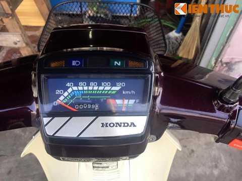 Đồng hồ công-tơ-mét của chiếc   xe chỉ rằng nó mới chỉ đi được đúng 99 km. Trừ đi khoảng 3 km chạy thử ở   nhà máy, như vậy chủ của chiếc xe này mới chỉ đi cùng với nó được   khoảng 96 km tại Việt Nam.