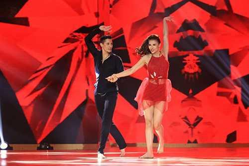 Hồng Quế vừa tham gia cuộc thi Bước nhảy Hoàn vũ sau thời gian có phần im hơi lặng tiếng