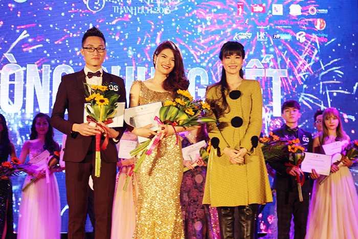 Trong cuộc thi Sinh viên thanh lịch Học viện Tài chính năm 1016, cặp đôi Nguyễn Tiến Đạt và Đoàn Quỳnh Nga giành giải cặp đôi trình diễn catwalk ấn tượng nhất.