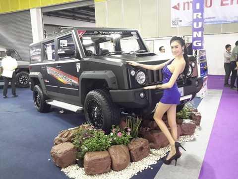 Thairung TR Transformer là mẫu SUV nội địa Thái Lan có mức giá tương đương khoảng 900 triệu đồng (xấp xỉ 42.000 USD)