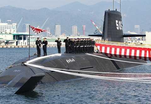 Tàu ngầm Soryu của Nhật bản