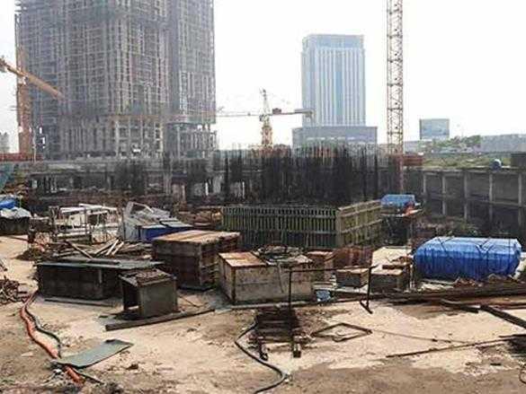 Dự án Usilk City trơ cọc thép gỉ