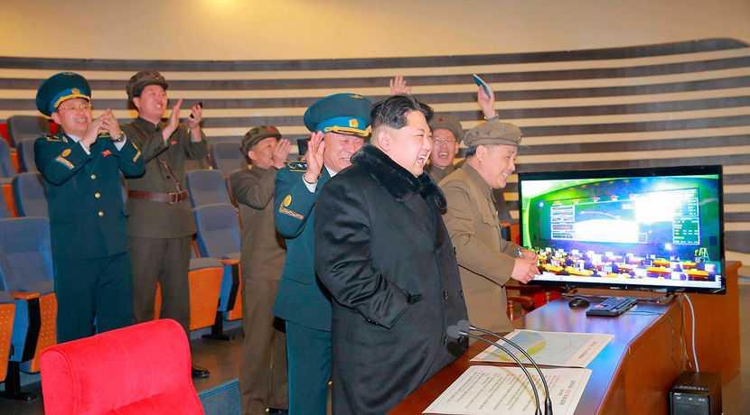 Triều Tiên vừa phóng tên lửa đạn đạo xuống vùng biển phía Đông - Ảnh minh họa