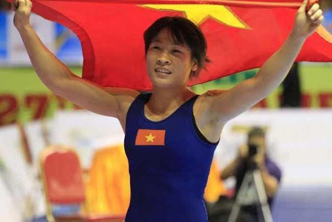 Nguyễn Thị Lụa xuất sắc giành vé thứ 7 dự Olympic Rio cho Việt Nam