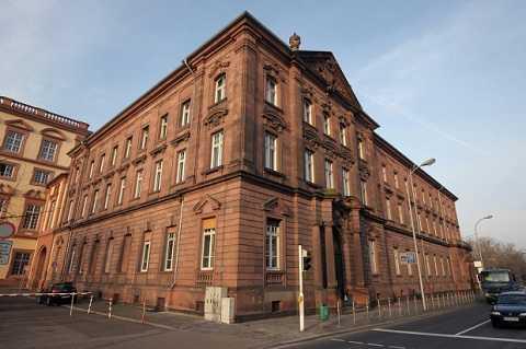 Tòa án thành phố Mannheim, nơi diễn ra cuộc xét xử của ông Dietmann. Ảnh Metro