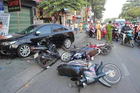 Hình ảnh hiện trường một vụ tai nạn (Hình minh họa)