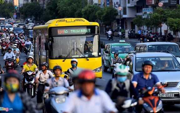 Hành trình của tuyến này từ Công viên 23/9 (quận 1) vào sân bay Tân Sơn Nhất (quận Tân Bình). (Ảnh: zing.vn)