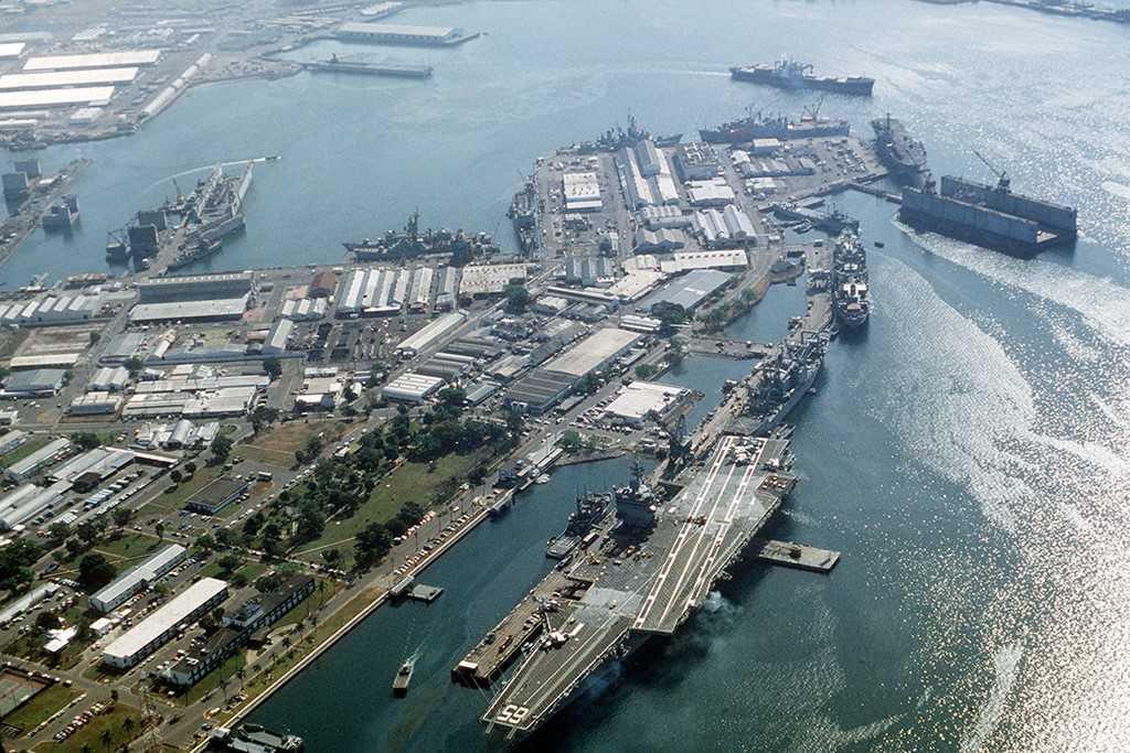 Căn cứ hải quân Subic Bay mà Philippines đề nghị cho Mỹ sử dụng