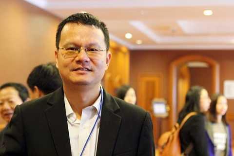 Tiến sĩ Trần Việt Thái, Phó viện trưởng Viện Nghiên cứu Chiến lược, Học viện Ngoại giao . Ảnh: Hồng Duy