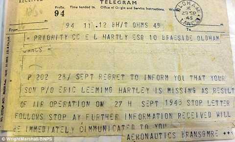 Những tranh nhật ký của cơ trưởng Eric Hartley