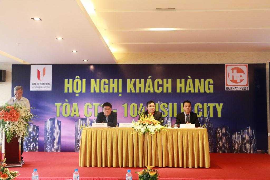 Khách hàng tổ chức hội nghị đề nghị chủ đầu tư chuyển giao cho chủ mới