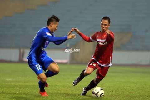 Tuyển Việt Nam chơi tốt trước Than Quảng Ninh tối qua