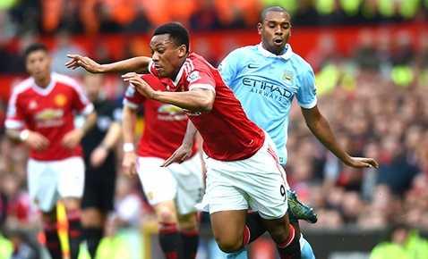 Trận lượt đi derby thành Manchester mùa này đã bất phân thắng bại