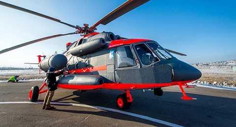 Những chiếc Mi-8AMTSh-VA đã gia nhập Nga