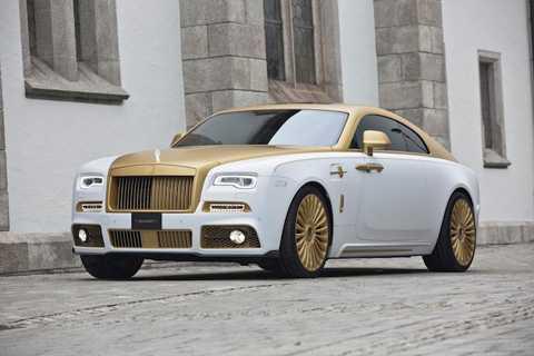 Với bản độ Palm Edition 999 từ chiếc   coupe siêu sang Rolls-Royce Wraith, Mansory đã không
