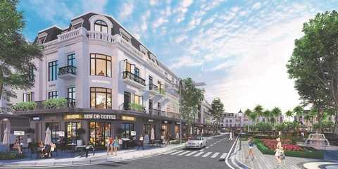 Nhà phố thương mại (shophouse) tại Vinhomes Dragon Bay