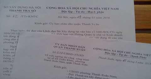 """Những chỉ đạo của Quận Thanh Xuân, Sở Xây dựng Hà Nội phải chăng chưa đủ """"mạnh"""" để xử lý sai phạm tại dự án?"""