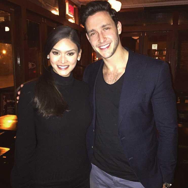 Mike - Pia được cho là gặp nhau tháng 2/2016.