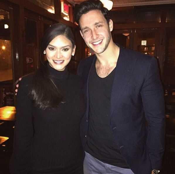 Bác sĩ Mike khoe ảnh đi ăn tối với Hoa hậu Pia (ảnh: Dr.Mike Instagram)